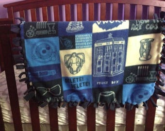 Doctor Who Baby Blanket