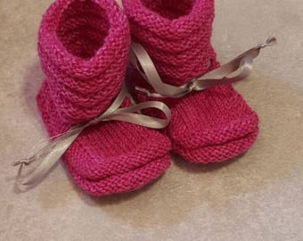 Baby Shoes, handmade