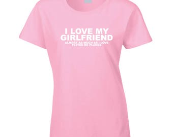 Girlfriend Rc Plane T Shirt