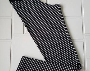 Leggings for women - thin stripes