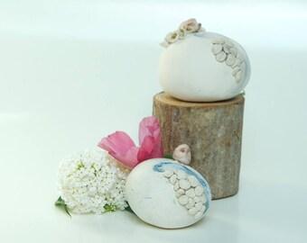 Mini world hedgehog - ceramics