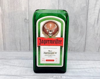 Jaegermeister Vase / Utensil Holder (Recycled Bottle)