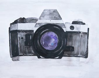 Camera Watercolor