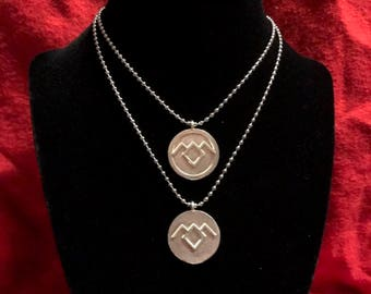 Twin Peaks Inspired Pendant-Owl Cave-
