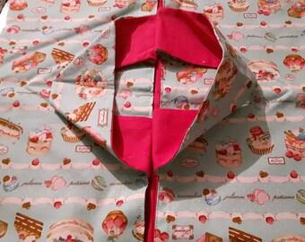 bag pie or cake pattern cupcakes