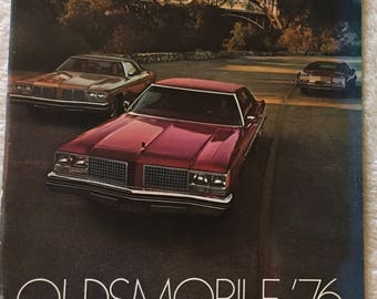 Oldsmobile 1976 Sales Brochure