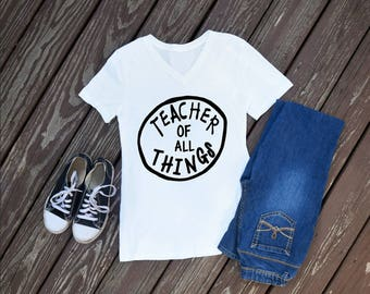 Teacher Of All Things Women's T-Shirt, Dr Seuss