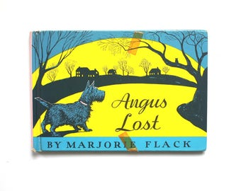 1932 Edition of Angus Lost by Marjorie Flack Vintage Hardcover Children's Book