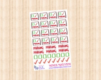 Marking // Diary // Planner // Stickers