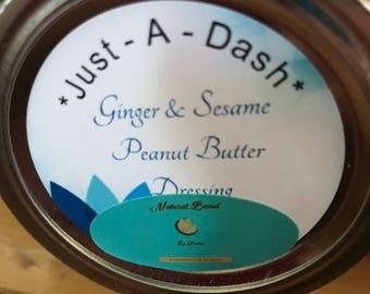 Ginger & Sesame Peanut Butter Dressing