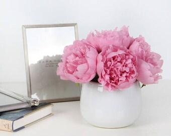 Luxury Pink Peony Flower Arrangement