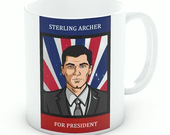 Sterling Archer For President Mug (M204)
