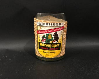 375ml Barenjager Honey German Liqueur Soy Candle . Made To Order !!!!!!!