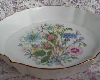 Aynsley Soap/Ring Dish Wild Tudor
