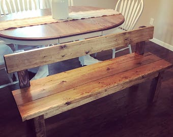 Farmhouse Bench (Local Pickup Only)