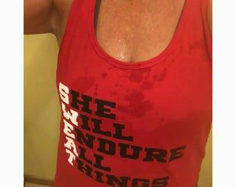 Workout Tank, Workout Tanks for Women, Cute Workout Tanks, Solid Tank, SWEAT Tank, Gym Tank, Ladies Active wear, Fitness Tank