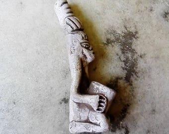 Shamanic Sacrament pipe - mayan entheogens clay shaman hippy pagan shamanka ceremony witch druid native tribal medicine