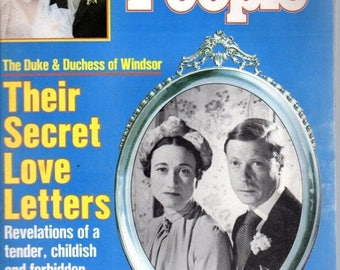 Summer Sale People Magazine May 12, 1986 The Duke and the Duchess of Windsor