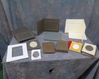 Misc lot of 150 Photography Mats and Folders