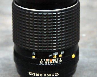 SMC Pentax-M 135mm f/3.5 Lens & Caps K Mount Ex