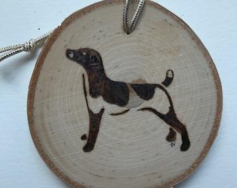 Dog ornament Jack Russel Terrier