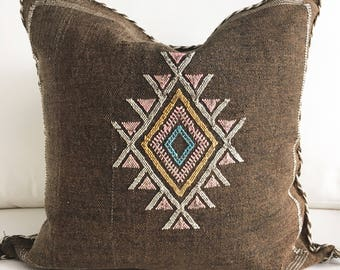 "20"" X 20"" Moroccan Pillow Cover"