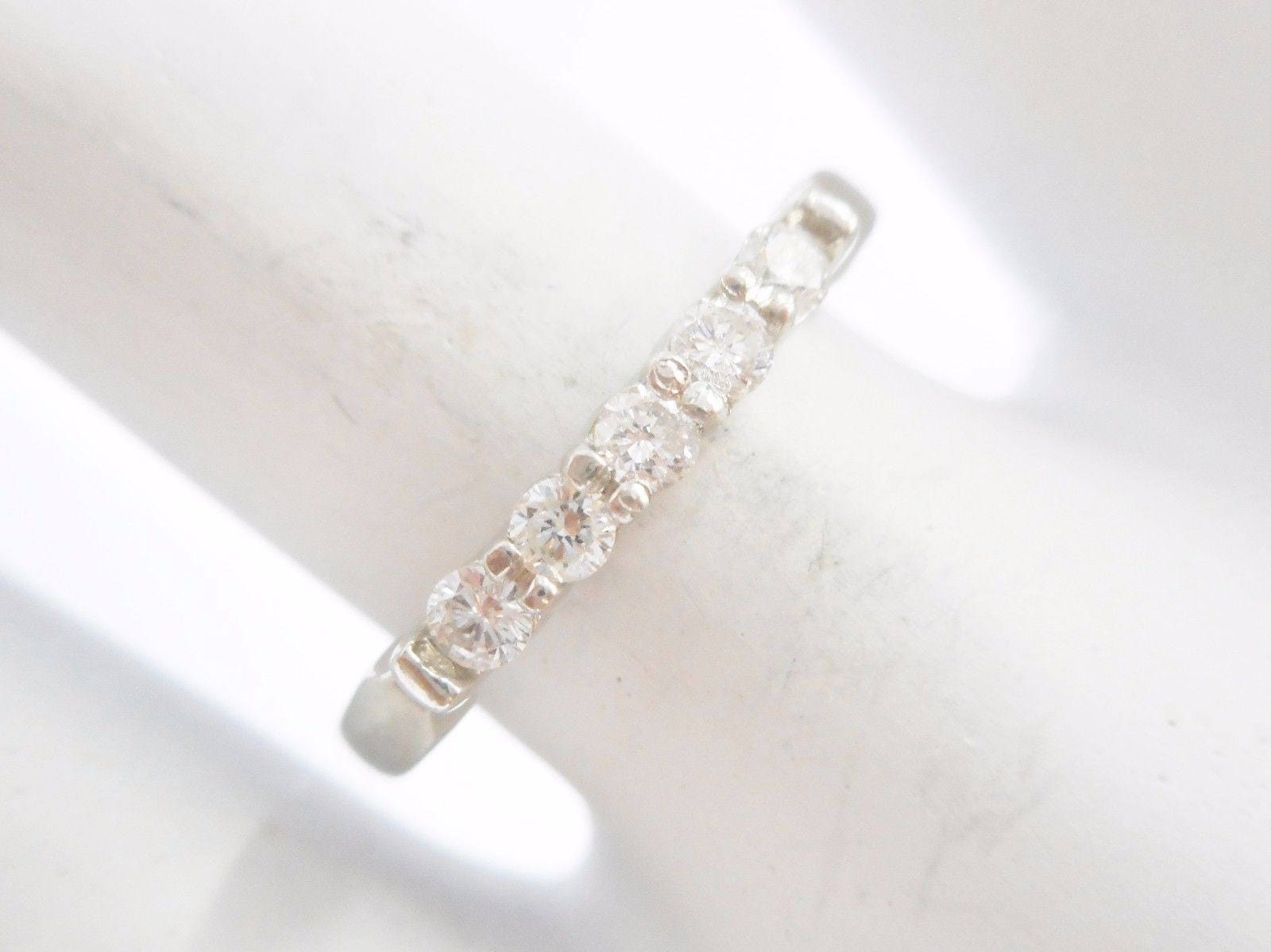 rings white stone nl set band wide in diamond and gold with bands jewelry baguette thick cut ring radiant wg channel engagement side