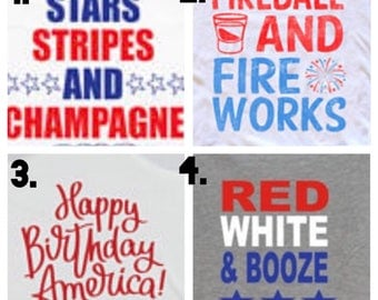 4th of July Tank Tops!