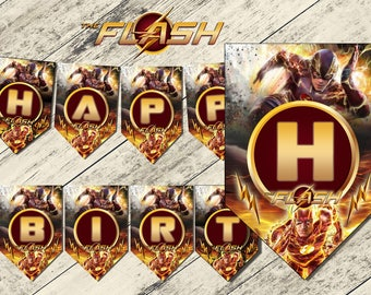 the flash,banner the flash,the flash birthday banner,birthday banner the flash,the flash party,the flash birthday,download banner,flash