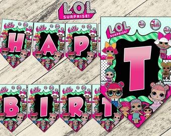 LOL surprise,lol,BANNER LOL surprise,lol surprise birthday,lol surprise party,lol surprise printable,lol surprise download,lol download,lol