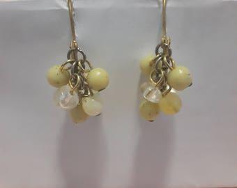 Clusters earrings