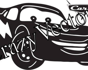 Race Car SVG, Race  SVG File Cutting Template-Clip Art for Commercial & Personal Use-Vector Art file for Cricut,Silhouette,Vinyl