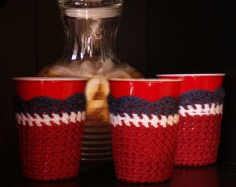 Party Cup Cozy - PDF Pattern Only