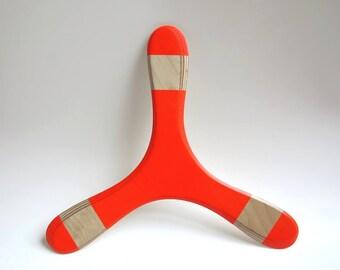 Children Boomerang TROLL Birch neon Red