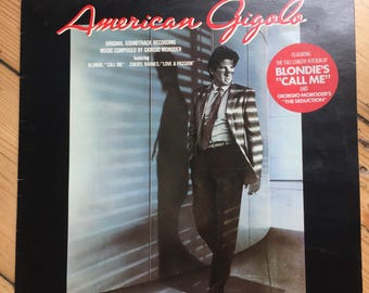 American Gigolo - Soundtrack - Vinyl (Richard Gere)