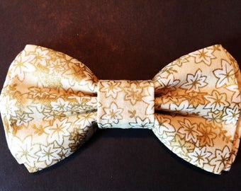Boys Bow Tie, Gold Bow Tie, Boy's Bow Tie, Bar Mitzvah Bow Tie, Wedding Bow Tie, Gold Bow Tie for Men, Baby Bow Tie, Easter Bow Tie  B670