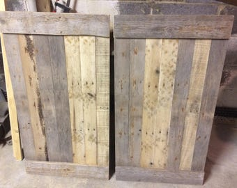 Rustic Shutters - Reclaimed Wood