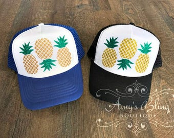 Pineapples Trucker Hat