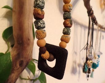 Necklace-Bring the inner fire outward