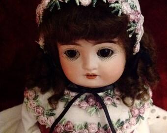 "Sweetest Antique Alphabet Kestner Doll ~ ""D"" ~ 15"""