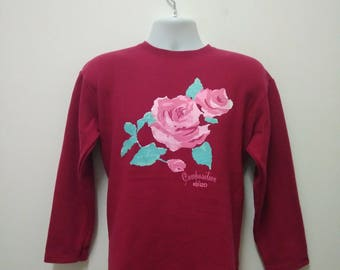 Vintage Composition By Kenzo Sweatshirt Made in Japan