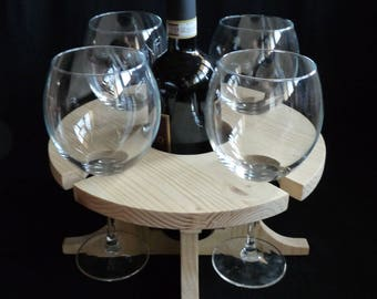 Chalices and bottle Holder