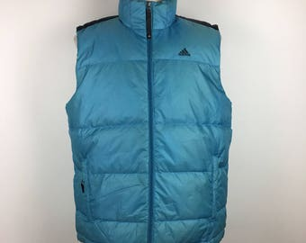 ADIDAS Vest Padded Jacket Puffer Down Sport XL