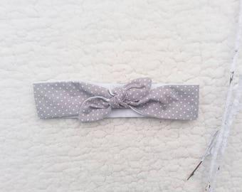 Headband tie 5 size 0/3 months