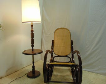 Bentwood Rocking Chair French Country Thanet Style With Cane Seating/back