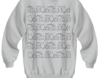 Cats - You Simply Have to Love Them - Comfortable Cat Sweatshirt