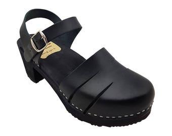 Sandals Clogs Ladies Black