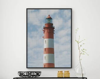 SALE!!! Lighthouse Print, Lighthouse Decor, Lighthouse Photo Lighthouse Wall Art, Lighthouse Poster, Beach Home Decor, Ocean Home Decor