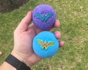 Sale! Wonder Women Bath Fizzy Inspired Bath Bomb Set