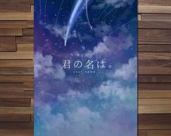 Kimi no na wa/ Your Name Custom Art - Poster - Canvas